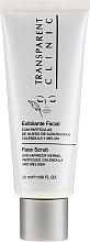 Düfte, Parfümerie und Kosmetik Gesichtspeeling mit Aprikosenkernpartikeln, Ringelblume und Melisse - Transparent Clinic Exfoliante Facial