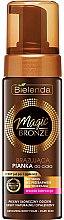 Düfte, Parfümerie und Kosmetik Bronzierender Körperschaum, dunkle Haut - Bielenda Magic Bronze