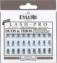 Düfte, Parfümerie und Kosmetik Wimpernbüschel-Set - Eylure Lash Pro Semi Permanent Eyelash Individual Duos And Trios