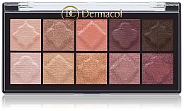 Düfte, Parfümerie und Kosmetik Lidschatten-Palette - Dermacol Matt & Pearl