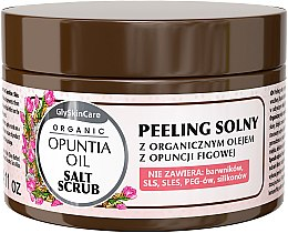 Düfte, Parfümerie und Kosmetik Salzpeeling für den Körper mit Bio Feigenöl - GlySkinCare Opuntia Oil Salt Scrub