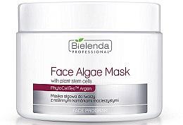 Düfte, Parfümerie und Kosmetik Alginatmaske für das Gesicht mit pflanzlichen Stammzellen - Bielenda Professional Face Algae Mask