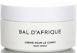 Düfte, Parfümerie und Kosmetik Byredo Bal D`Afrique - Körpercreme