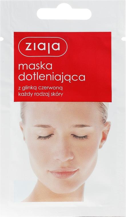 Gesichtsmaske mit roter Tonerde für alle Hauttypen - Ziaja Face Mask — Bild N1