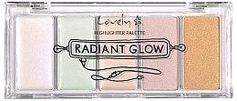 Düfte, Parfümerie und Kosmetik Highlighter-Palette - Lovely Radiant Glow Highlighter Palette