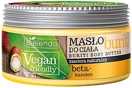 Düfte, Parfümerie und Kosmetik Körperbutter mit Beta-Carotin - Bielenda Vegan Friendly Buriti Body Butter