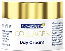 Düfte, Parfümerie und Kosmetik Tagescreme für das Gesicht mit Kollagen - Novaclear Collagen Day Cream