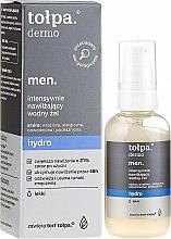 Düfte, Parfümerie und Kosmetik Intensiv feuchtigkeitsspendendes Gesichtsgel für Männer - Tolpa Dermo Men Hydro Intensive Moisturising Gel
