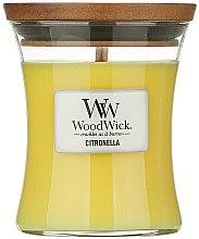 Düfte, Parfümerie und Kosmetik Duftkerze im Glas Citronella - WoodWick Citronella Medium Candle