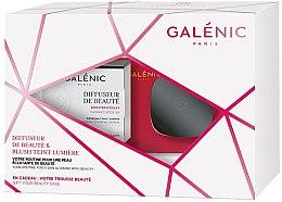 Düfte, Parfümerie und Kosmetik Gesichtspflegeset - Galenic Diffuseur De Beaute (Gel-Creme 50ml + Rouge 5g + Kosmetiktasche)
