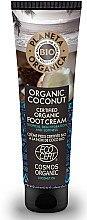 Düfte, Parfümerie und Kosmetik Feuchtigkeitsspendende Fußcreme mit Bio Kokosöl - Planeta Organica Organic Coconut Foot Cream