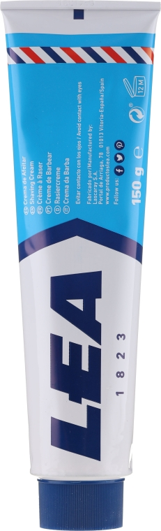 Rasiercreme - Lea Sensitive Skin Shaving Cream with Brush — Bild N3