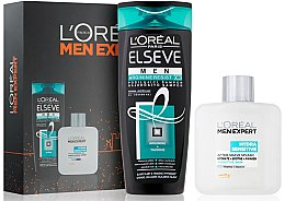 Düfte, Parfümerie und Kosmetik Gesichtspflegeset - L'Oreal Paris Men Expert Set (After Shave Tonikum 100ml + Schampoo 250ml)