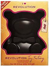 Düfte, Parfümerie und Kosmetik Lidschatten-Palette - I Heart Revolution Teddy Bear Palette Jett