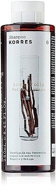 Shampoo für fettiges Haar - Korres Liquorice And Urtica Shampoo For Oily Hair — Bild N1