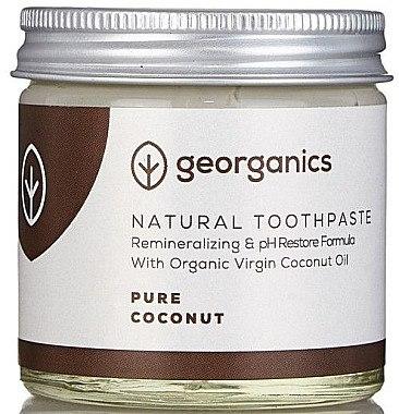Natürliche Zahnpasta mit Kokosöl - Georganics Pure Coconut Natural Toothpaste — Bild N1