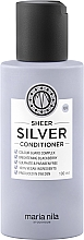 Düfte, Parfümerie und Kosmetik Conditioner für gefärbtes Haar mit Brombeere - Maria Nila Sheer Silver Conditioner