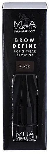 Augenbrauengel - MUA Brow Define Long-Wear Brow Gel