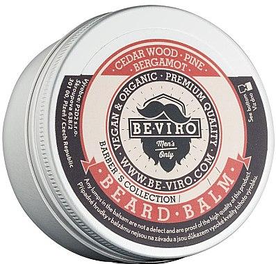 Schnurrbart-Balsam mit Zedernholz, Kiefer und Bergamotte - Be-Viro Beard Balm Cedar Wood Pine Bergamot — Bild N1