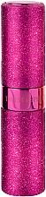 Düfte, Parfümerie und Kosmetik Nachfüllbarer Parfümzerstäuber rosa - Travalo Twist & Spritz Hot Pink Glitter