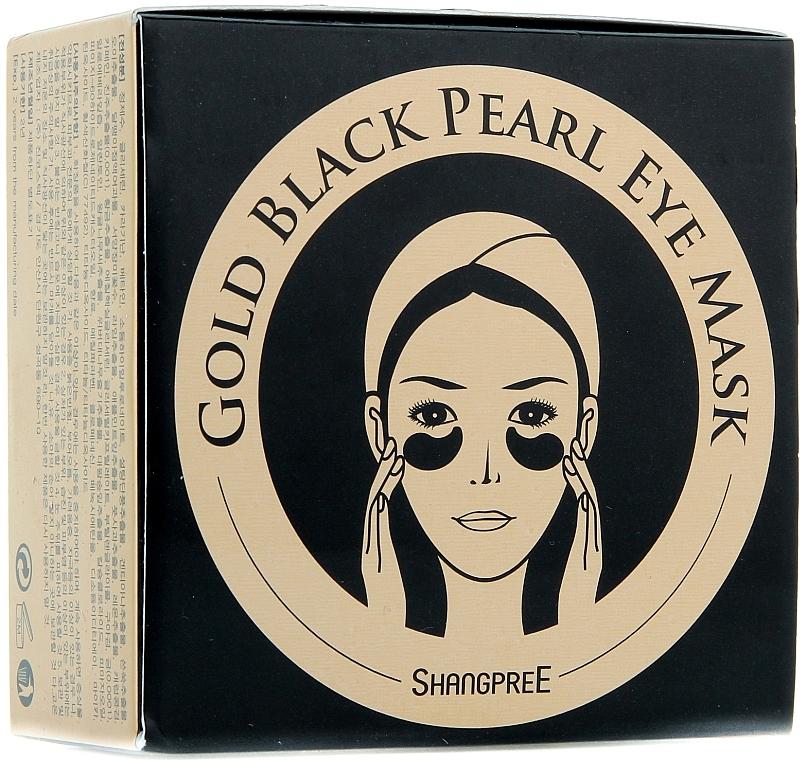 Hydrogel-Augenpatches mit schwarzem Perlenpulver - Shangpree Gold Hydrogel Eye Mask — Bild N1