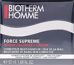 Düfte, Parfümerie und Kosmetik Anti-Aging Gesichtscreme für Männer - Biotherm Homme Force Supreme