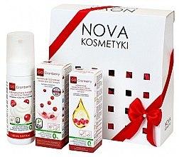 Düfte, Parfümerie und Kosmetik Gesichtspflegeset - GoCranberry (Gesichtsschaum 150ml + Gesichtsmaske 50ml + Gesichtsserum 30ml