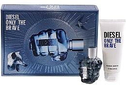 Düfte, Parfümerie und Kosmetik Diesel Only The Brave - Set (edt/50ml + sh/gel/100ml)