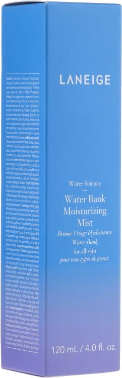 Feuchtigkeitsspendender Gesichtsnebel - Laneige Water Science Water Bank Moisturizing Mist — Bild N1