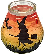 Düfte, Parfümerie und Kosmetik Dekorative Kerze im Glas Patiolight Bat and Witch 94/91 mm - Bolsius Candle