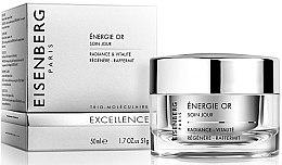 Düfte, Parfümerie und Kosmetik Straffende und aufhellende Gesichtscreme - Jose Eisenberg Energie Or Soin Jour