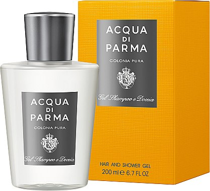 Duschgel - Acqua di Parma Colonia Pura Hair and Shower Gel — Bild N1