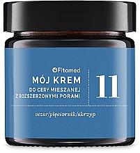 Düfte, Parfümerie und Kosmetik Gesichtscreme für gemischte und fettige Haut mit erweiterten Poren - Fitomed Herbal Cream Nr11