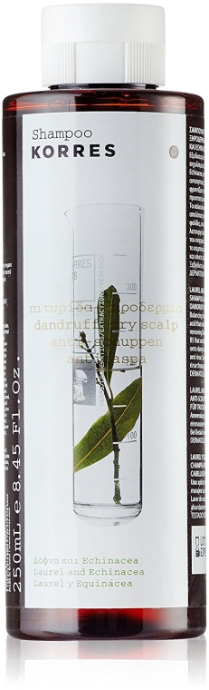 Anti-Schuppen Shampoo für trockene Kopfhaut - Korres Laurel And Echincea Shampoo For Dry Scalps And Dandruff — Bild N1