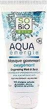 Düfte, Parfümerie und Kosmetik Sauerstoffreiche Gesichtsmaske mit Peelingeffekt - So'Bio Etic Aqua Energie Oxygenating Mask And Scrub