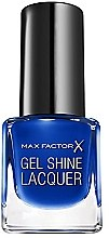 Düfte, Parfümerie und Kosmetik Gelnagellack - Max Factor Gel Shine Lacquer