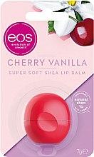 Düfte, Parfümerie und Kosmetik Lippenbalsam mit Kirschgeschmack und Vanilleduft - EOS Cherry Vanilla Sphere Lip Balm