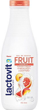 Duschgel Pfirsich und Grapefruit - Lactovit Fruit Shower Gel — Bild N1