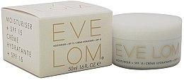 Düfte, Parfümerie und Kosmetik Feuchtigkeitsspendende Gesichtscreme SPF 15 - Eve Lom Moisturiser Cream + SPF15