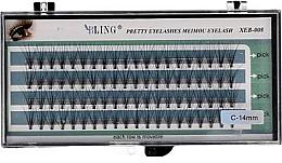 Düfte, Parfümerie und Kosmetik Wimpernbüschel-Set C-14 mm - Bling Pretty Eyelashes