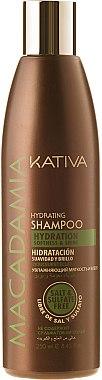 Feuchtigkeitsspendendes Shampoo für normales und strapaziertes Haar - Kativa Macadamia Hydrating Shampoo — Bild N1