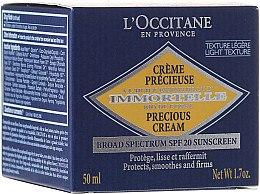 Düfte, Parfümerie und Kosmetik Anti-Falten Tagescreme LSF 20 - L'Occitane Immortelle Precious Protection