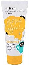 Düfte, Parfümerie und Kosmetik Feuchtigkeitsspendende Handcreme mit Koffein - Kili·g Woman Moisturizing Hand Cream