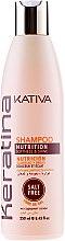 Düfte, Parfümerie und Kosmetik Pflegendes Shampoo mit Keratin - Kativa Keratina Shampoo