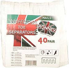 Düfte, Parfümerie und Kosmetik Pediküre-Zehenspreizer 80 St. - Ronney Professional Toe Separators