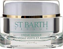 Gesichtscreme-Maske mit grüner Tonerde und Ananas - Ligne St Barth Cream Mask With Green Clay And Pineapple — Bild N2