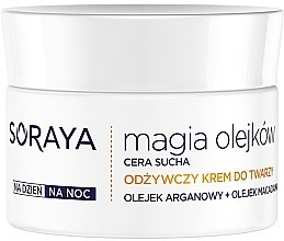 Pflegende Gesichtscreme mit Argan- und Macadamiaöl - Soraya Magic of Oils Nourishing Cream for Dry Skin — Bild N2