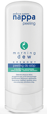 Cremiges Fußpeeling Morning Dew mit Glyzerin und Avocado - Silcare Nappa Creamy Foot Peeling Morning Dew — Bild N1