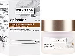 Düfte, Parfümerie und Kosmetik Regenerierende und straffende Anti-Falten Nachtcreme für das Gesicht - Bella Aurora Splendor 10 Total Regeneration Night Cream