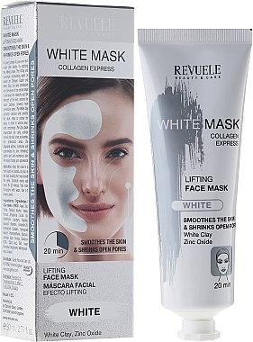 Gesichtsmaske mit Liftingeffekt - Revuele White Mask Lifting Face Mask — Bild N1